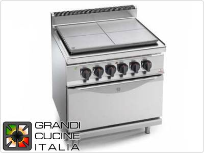 Solid Top Cooker Series 700