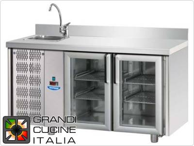 Refrigerated Counters - GN Positive Temperature