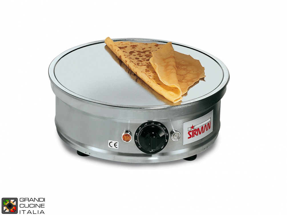 Round pancake cooker mm Ø350 floor with recess