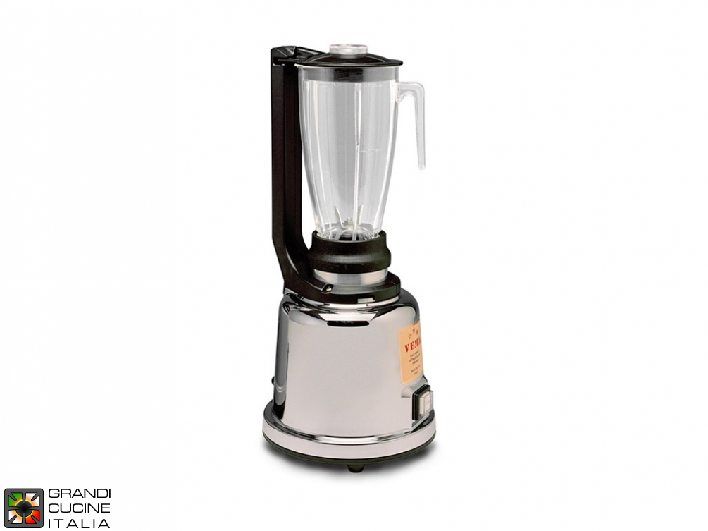 Mixer Blender - Capacity 1,2 liters - Transparent jug - Chromed body - 2 speed