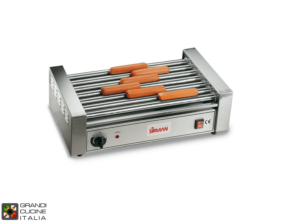 Würstel\Sausage Cooker - 9 Stainless steel Rollers 1650W