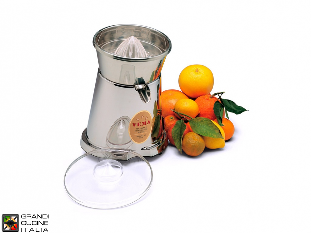 Jolly citrus squeezer metallized body