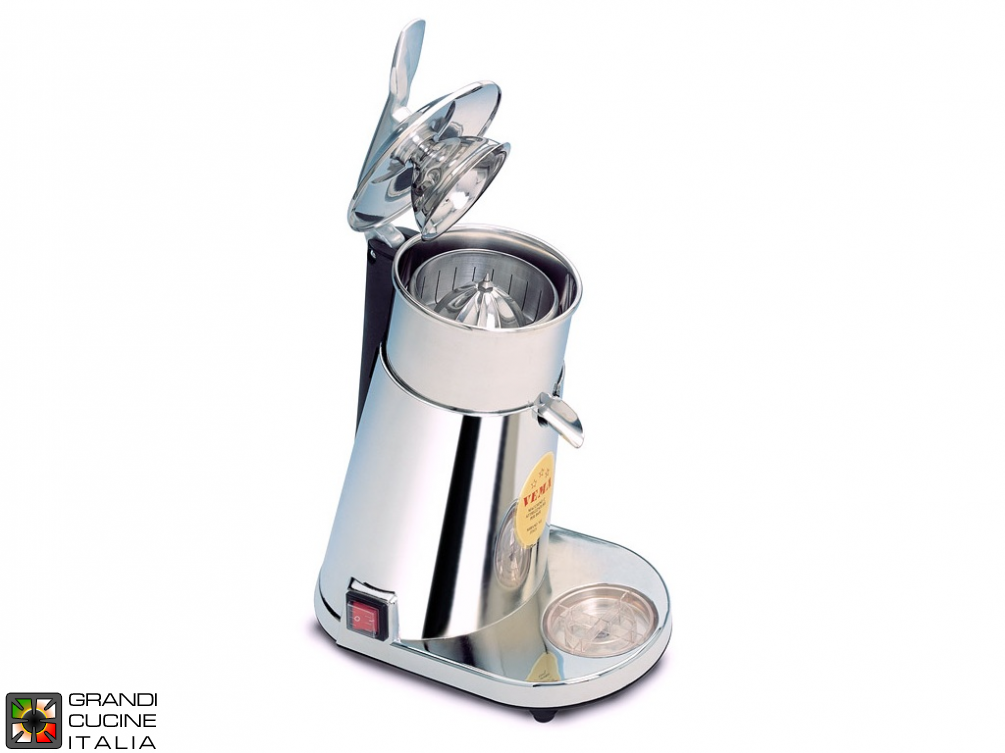 Automatic citrus squeezer crhome body, stainless steel cone