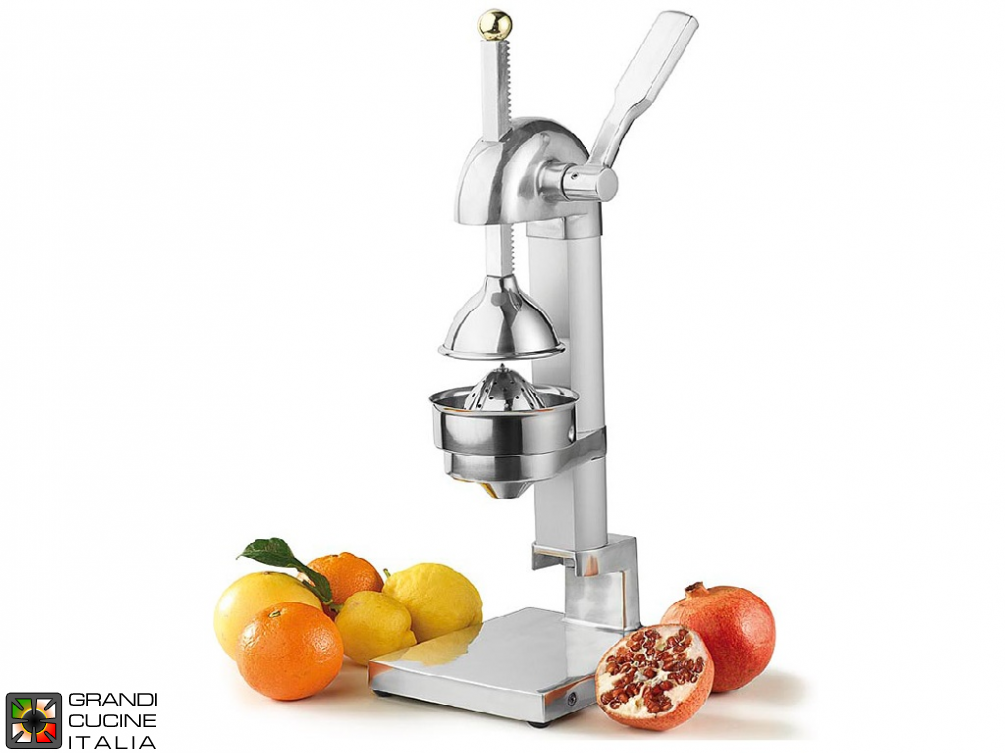 Manual citrus squeezer