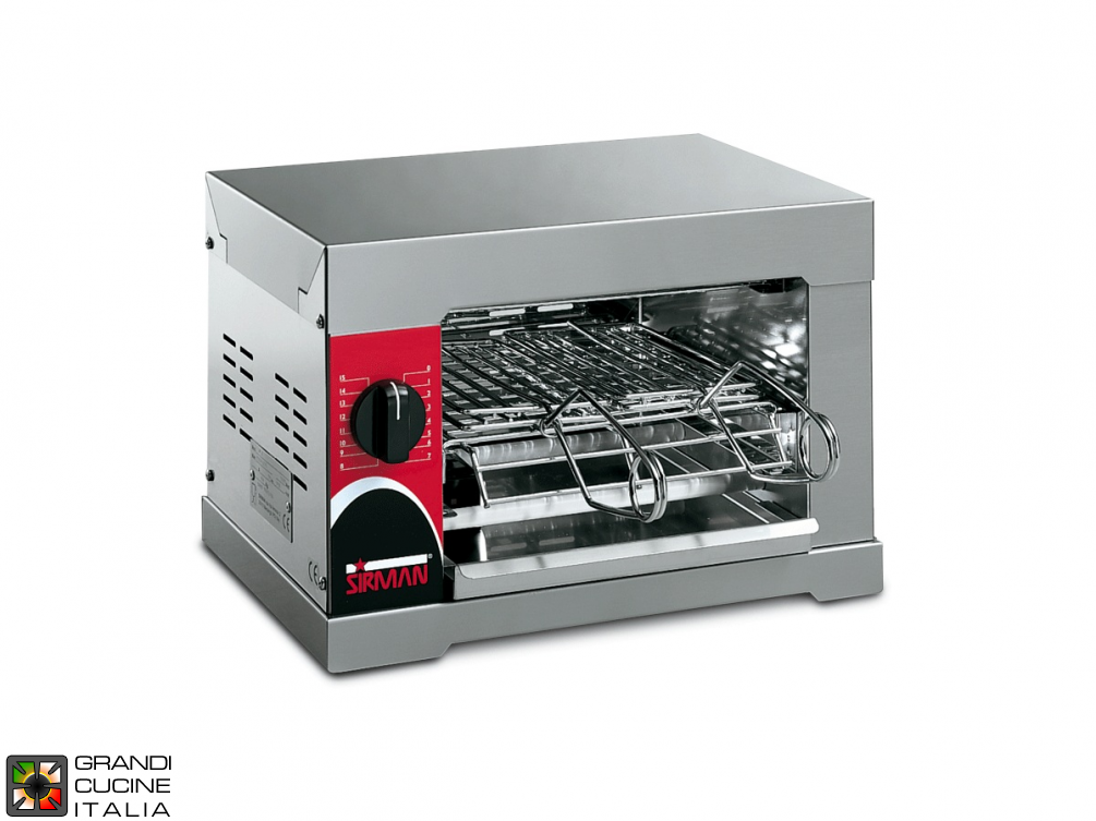 2 Clamps Toaster - 1600W Power