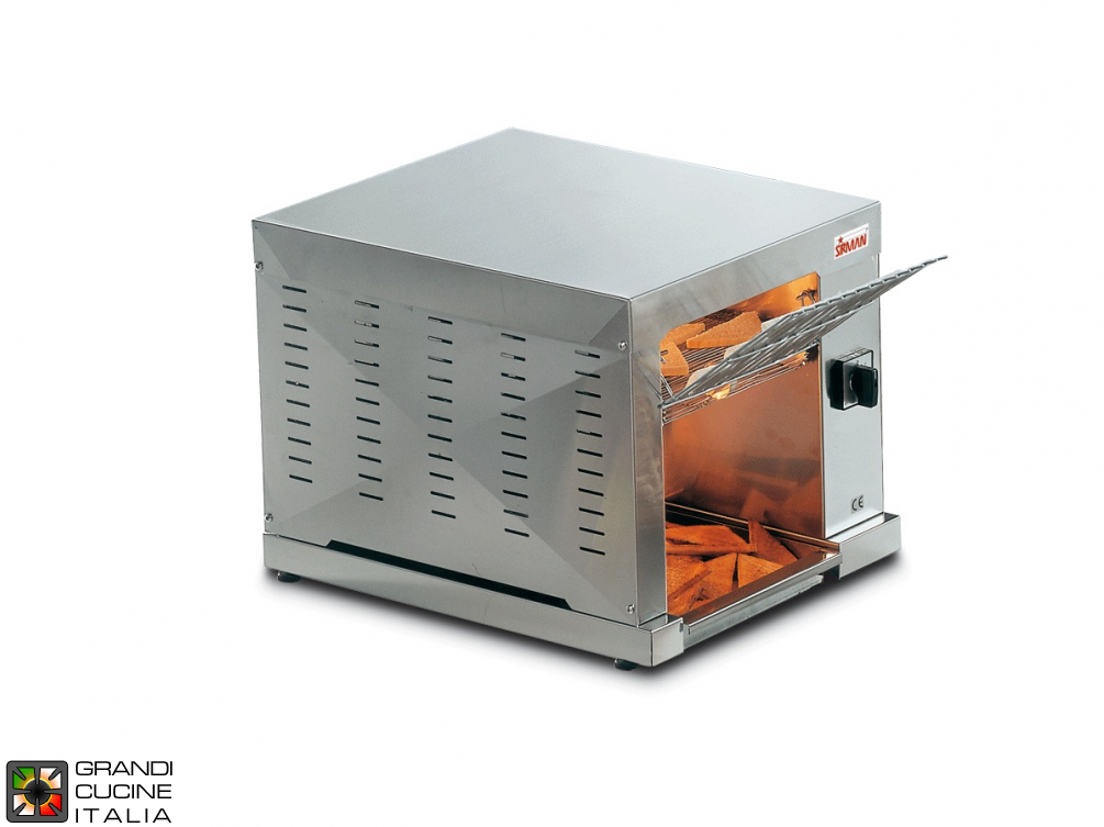 Rolling toaster 3000W - Modulable speed