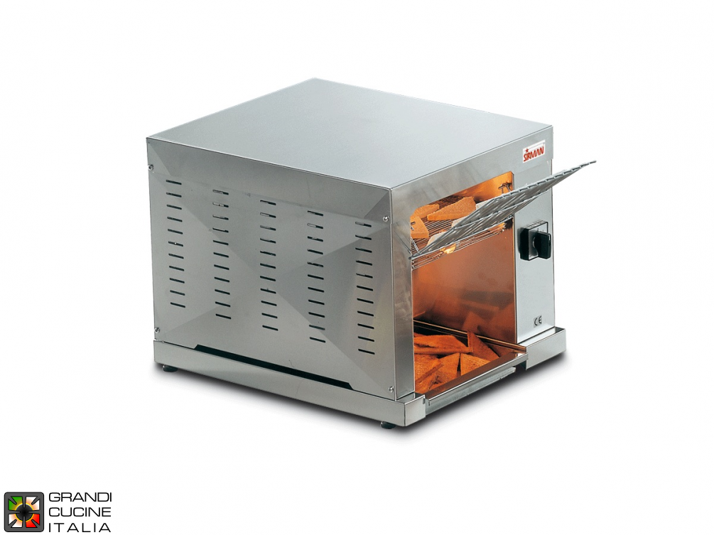 Rolling toaster 2660W , modulable speed