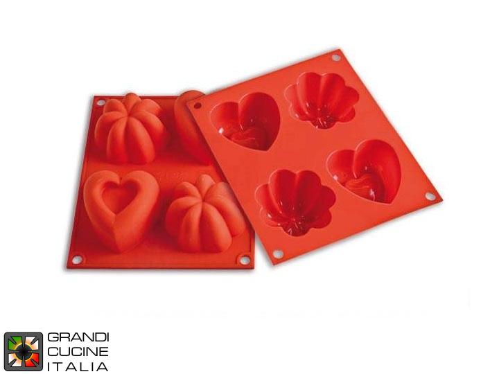 Stampo in silicone alimentare per Happy Love - HSF02