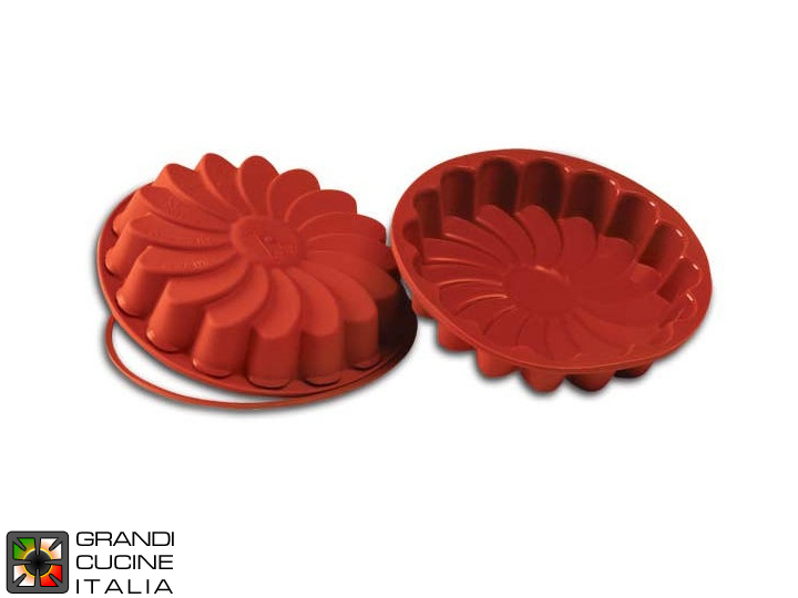 Food-safe Silicone baking tin for Daisy Ø220 mm - SFT220