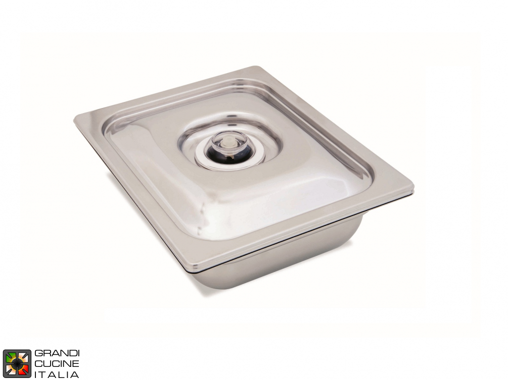 Gastronorm 1\1 Tray with Lid fit for Ext. Vacuum, Height 150 mm