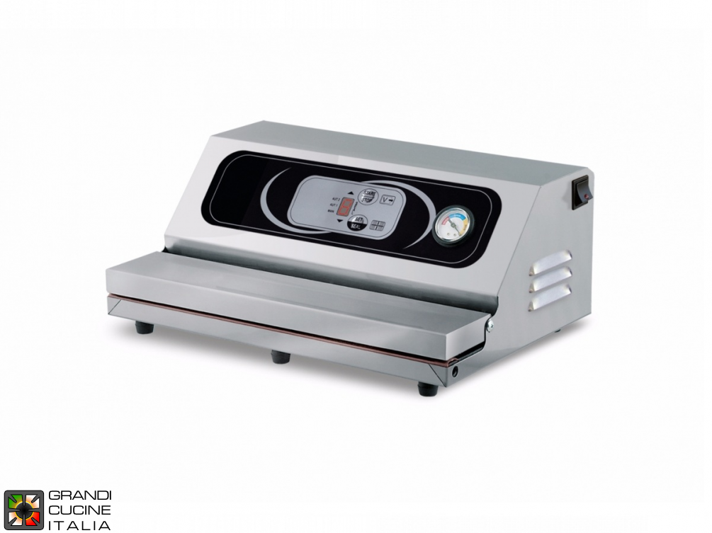 Vacuum machines - sealing bar mm. 400 Digit.