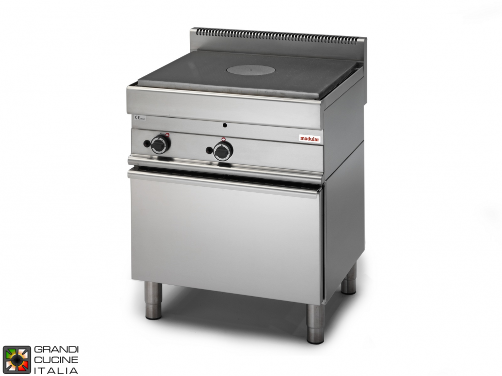 Gas solid top - gas oven
