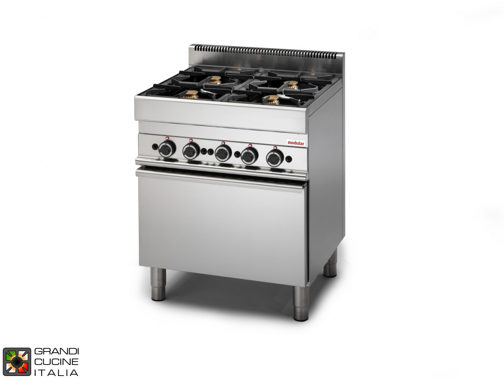 Gas range - 4 burners - gas oven