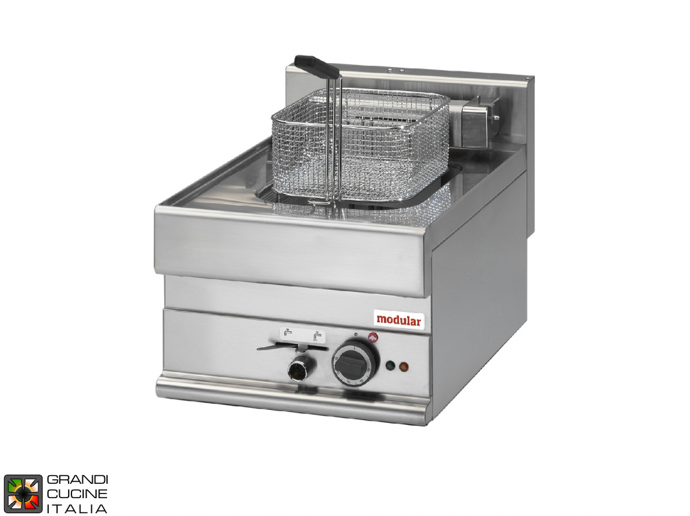 Electric fryer - 1 well - 10 Lt. capacity