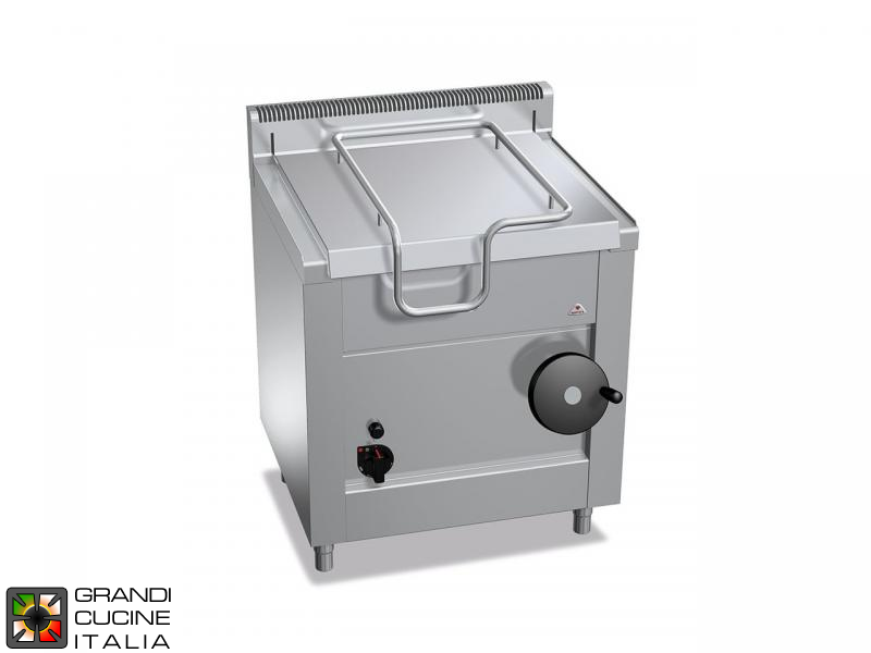 Gas Bratt Pan - Capacity 60 Liters - Manual Tilting