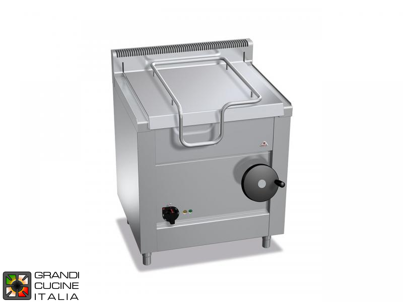 Electric Bratt Pan - Capacity 60 Liters - Manual Tilting