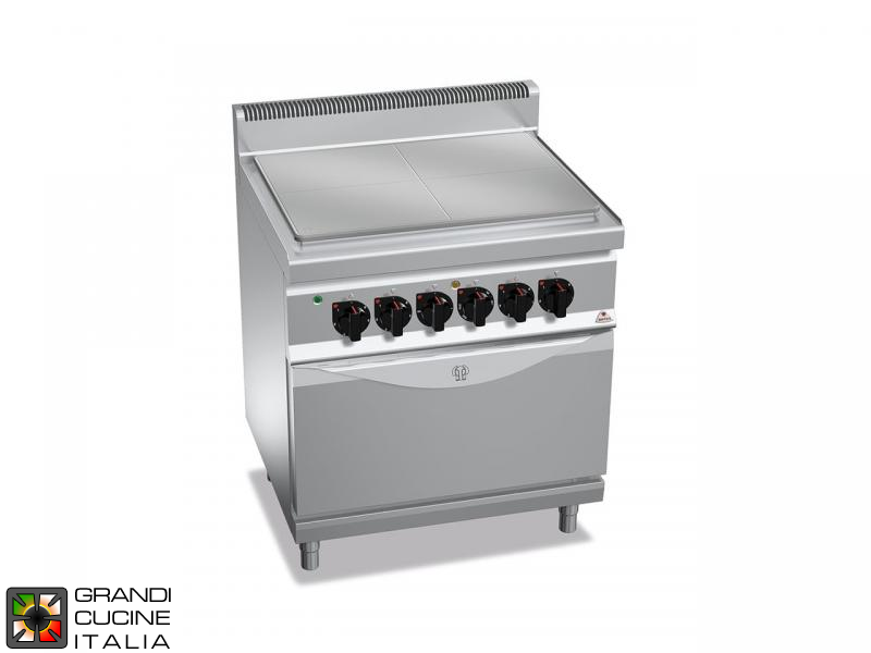 Electric Solid Top - StaticElectric Oven GN 2/1
