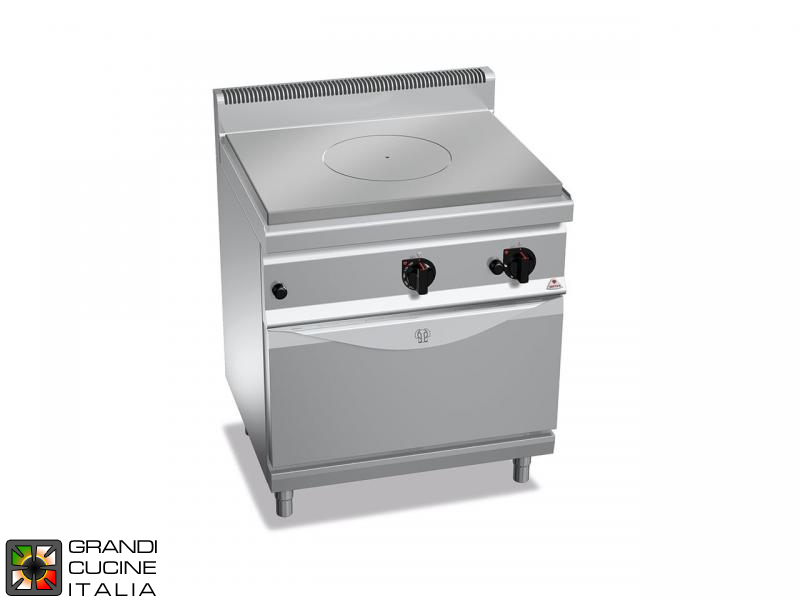 Gas Solid Top - Static Gas Oven GN 2/1