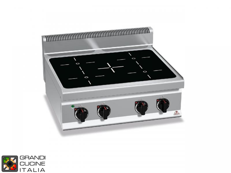 Induction Electric Stove - 4 Zones - Tabletop
