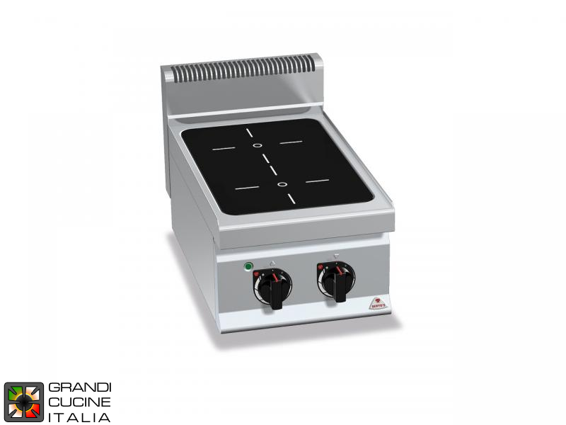Induction Electric Stove - 2 Zones - Tabletop