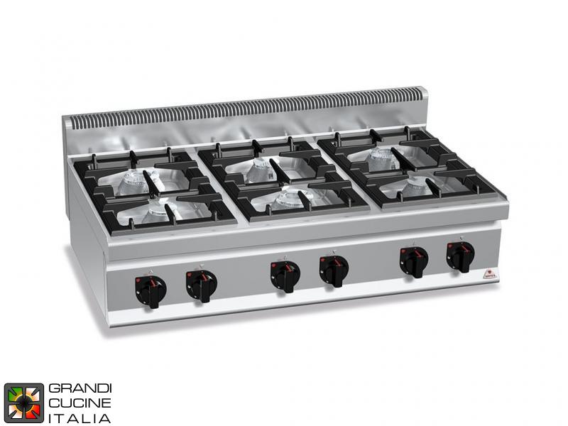 Gas stove burners tabletop