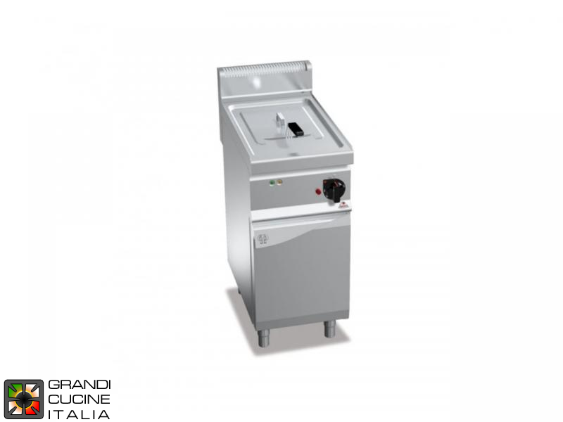 Electric Fryer - 1 Tank - Open Cabinet - Direct Heating - Capacity 18 Liters