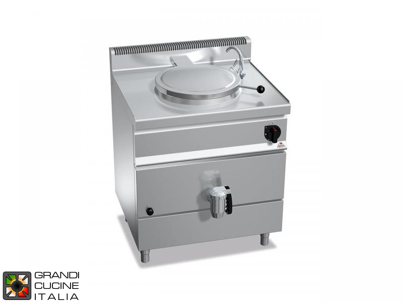 Gas Boiling Pot - Direct Heating - Capacity 50 Liters
