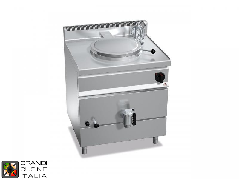 Gas Boiling Pot - Indirect Heating - Capacity 50 Liters