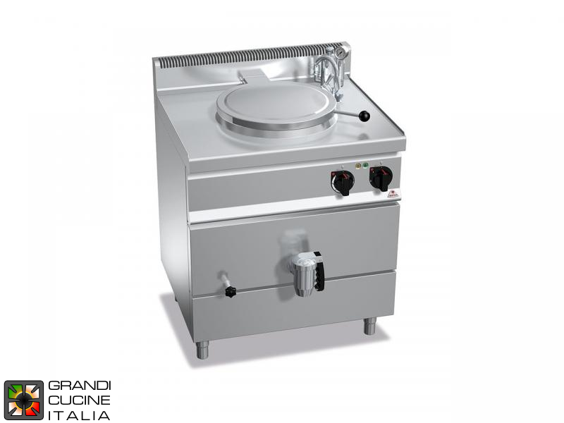Electric Boiling Pot - Indirect Heating - Capacity 55 Liters