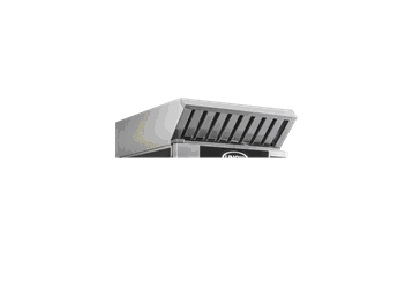 Hood with steam condenser (Only for electric ovens) - Frame with Active Carbon Filter