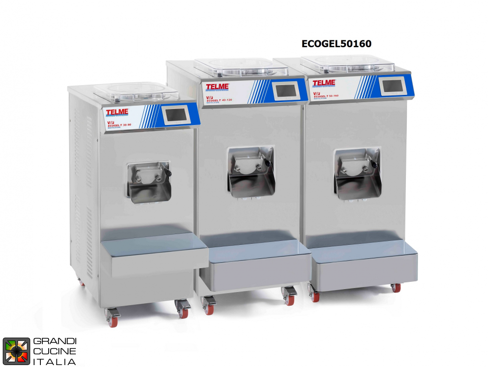 Batch freezer Capacity 8-24 Lt - Hourly production 160