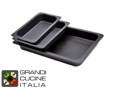 Aluminum Non-Stick Gastronorm Trays - 3 Pieces