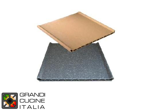 Refractory Plates Set - N° 2 Pieces