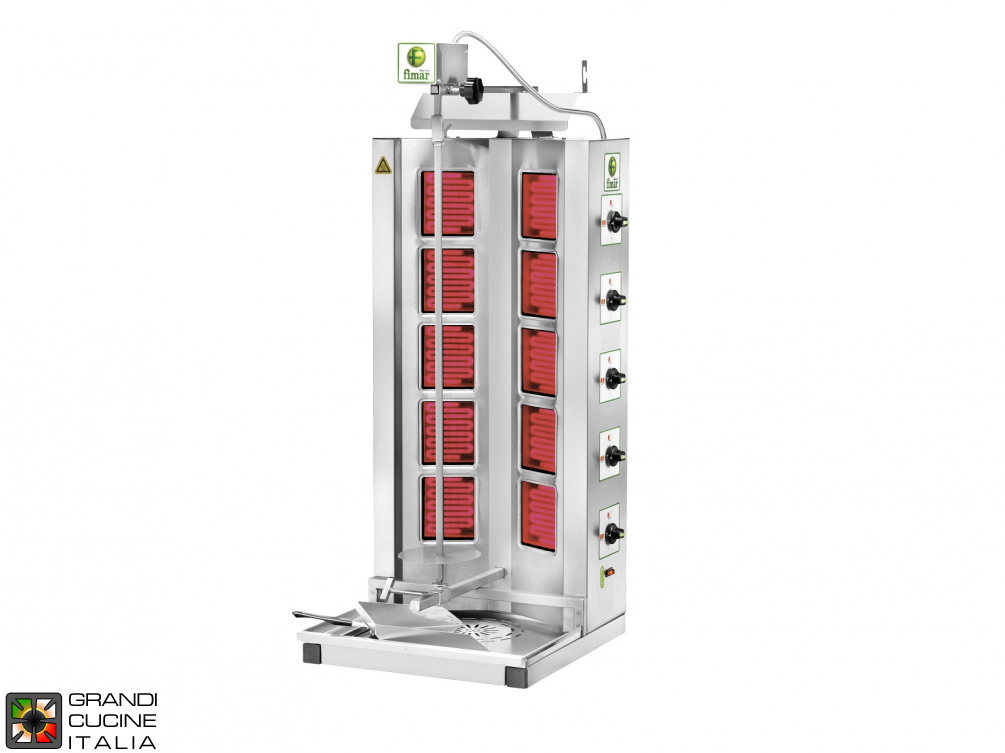 Gyros kebab electric capacity Kg. 50/85