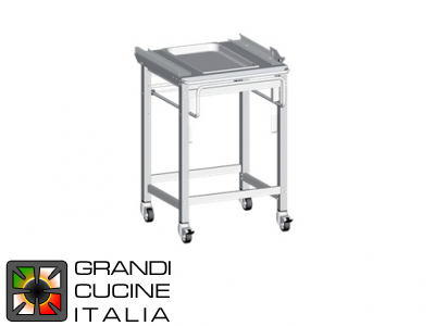 Tray Holder Trolley for GN 1\1 Basket