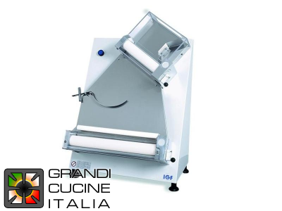 Gemma White Pizza Stretcher for Ø40 Cm round pizzas - portion 50/1000gr