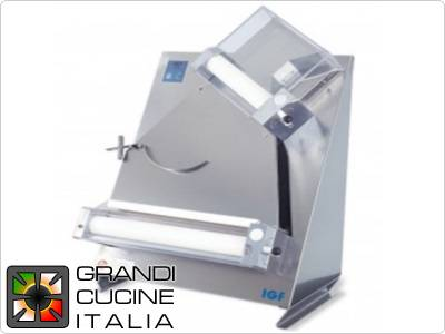 Gemma Inox Pizza Stretcher for Ø40 Cm round pizzas - portion 50/1000gr