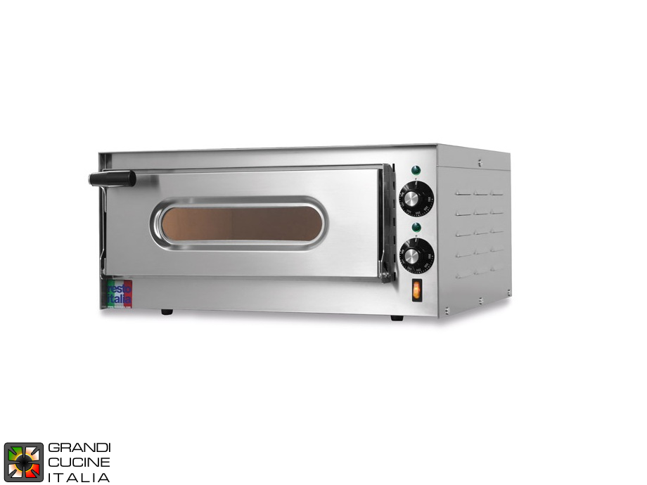 "Electric static Oven ""SMALL"" - Single Chamber - Internal Dimensions Cm 41x36x11h"