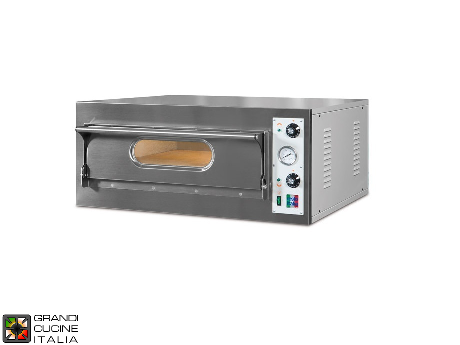 "Electric Static Oven ""START6BIG/L"" - Single Chamber - Internal Dimensions Cm 108x72x14h"