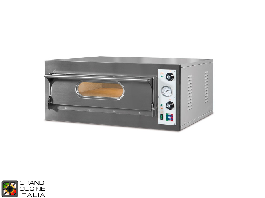 "Electric Static Oven ""START4"" - Single Chamber - Internal Dimensions Cm 66x66x14h"
