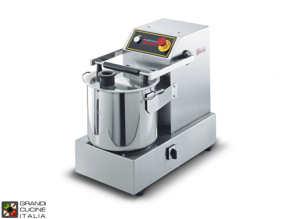 Cutter capacity 14.5 liters benchtop - Two Speed - 380V