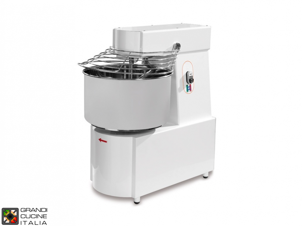 Spiral Dough Mixer with fixed head SK line - monophase 48Lt.