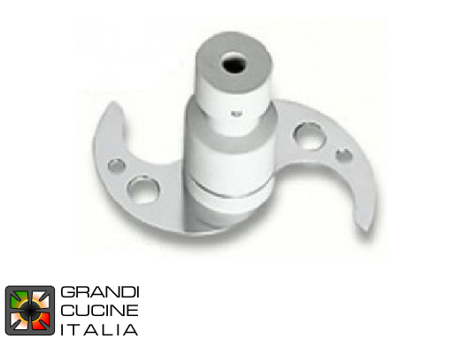 Cutter - Hub with perforated blades for C15