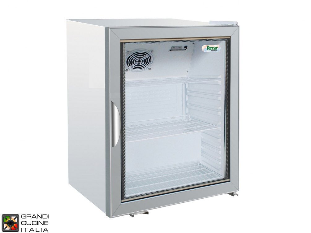 Refrigerated cabinet for Snacks - Capacity 115 LT - Range +2 / +8 °C