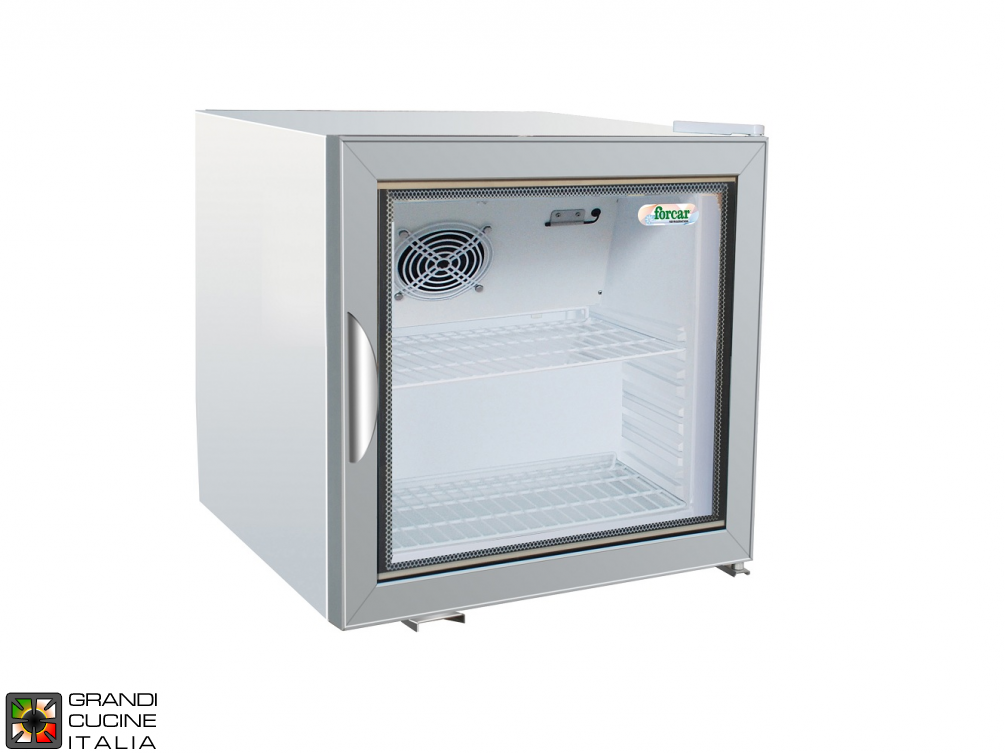 Refrigerated cabinet for Snacks - Capacity 68 LT - Range +2 / +8 °C