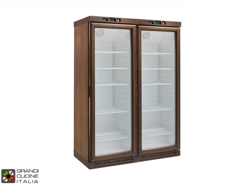 Refrigerated wine cellar with static refrigeration,Capacity 620LT - Range +2 / +8