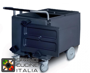 Cart for Ice - Capacity 73Kg