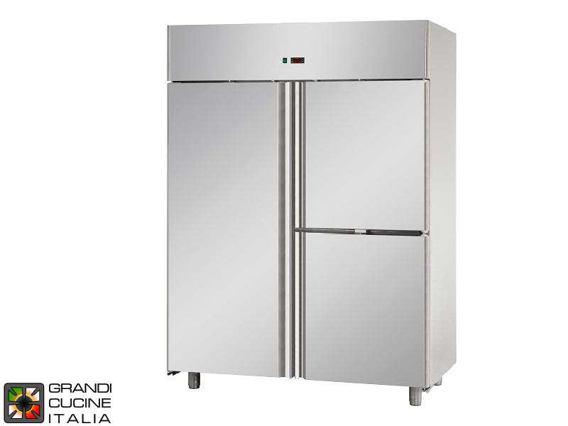 Freezing Cabinet - 1400 Liters - Temperature -18 / -22 °C - Three Doors - Ventilated Refrigeration - Pastry Version