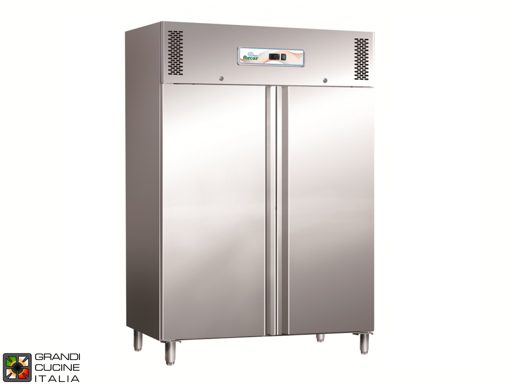 Freezing Cabinet - 1100 Liters - Temperature  -18 / -22 °C - Two Doors - Static Refrigeration