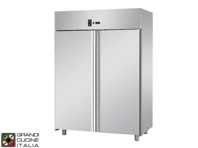 Refrigerated Cabinet - 1400 Liters - Temperature -2 / +8 °C - Two Doors - Ventilated Refrigeration - Pastry Version